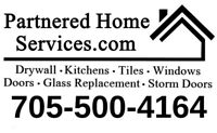 Drywall installations and repairs