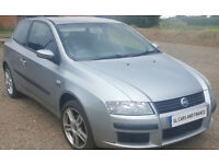 Fiat Stilo 1.8 16v Sporting. New MOT. GUARANTEED FINANCE AVAILABLE ON NEWER CARS