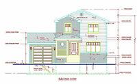 Services de Plans Architecture,Plan de Maison, Plan pour Permis