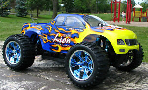 New RC Truck Brushless Electric  4WD LIPO 2.4G Kitchener / Waterloo Kitchener Area image 2
