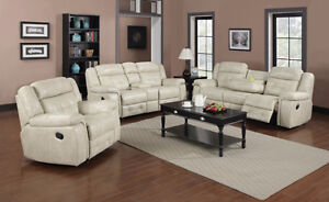 BRAND NEW AIR LEATHER RECLINER SOFAS, LOVE SEATS, CHAIRS!!