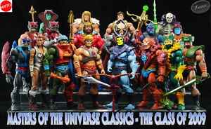 Masters of the Universe Classics Action Figures (Loose/New)