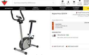 Tempo Magnetic Exercise Bike