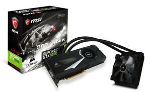 MSI GTX 1080 Seahawk (Water-cooled, Simply just Plug and Play)