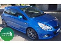 £166.64 PER MONTH BLUE 2011 VAUXHALL CORSA 1.6 VXR 3 DOOR PETROL MANUAL