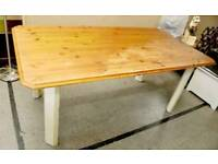 SALE NOW ON!! - Pine Dining Table - Can Deliver For £19