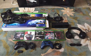 XBOX ONE GAMES, KINECT, HEADSET & SCUFF CONTROLLER FOR SALE!