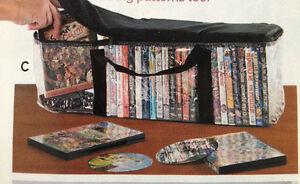 DVD STORAGE CASE - (Holds 37 dvd's!)