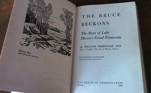 The Bruce Beckons, Story of Lake Huron's Great Peninsula Kitchener / Waterloo Kitchener Area image 3