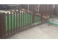 Well made picket fences and gates