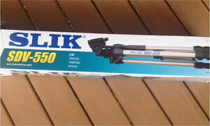 Never used (still in packaging) - SLIK Tripod SDV-550 Tarragindi Brisbane South West Preview
