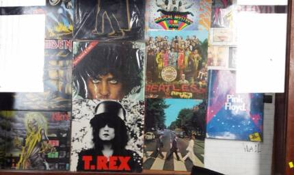 QUALITY VINYL RECORDS LPS BEATLES IRON MAIDEN STONES TREX++ Forrestfield Kalamunda Area Preview