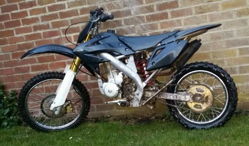 2010 250 large pit bike in hexham northumberland gumtree. Black Bedroom Furniture Sets. Home Design Ideas
