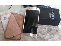 Samsung S7 gold excellent condition