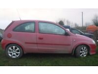 BREAKING 2005 VAUXHALL CORSA - 1L PETROL - NO TEXTS PLEASE - NEWRY / ARMAGH