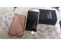 Samsung s7 Gold in excellent condition