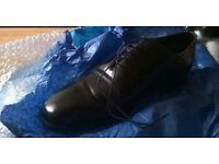 New Lingwood leather men's shoes