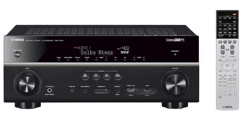 Yamaha TSR-7810 7.2 Channel Network AV Receiver New In Box