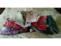 Large bundle girls clothes ages 5-6 over 50 items