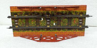 URALT ZEER OUD SPOOR O METTOY Vakwerkbrug met gemonteerde rails 25.80 cm
