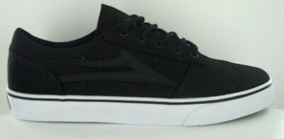 SKATE SCHUHE LAKAI Brea black canvas US 9 / EUR 42. 5