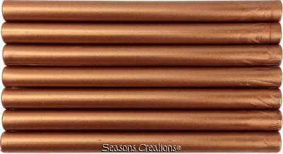 Copper Flexible Glue Gun Sealing Wax - 7 Sticks (5 inches long, full-size)