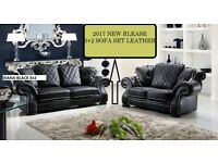 BANK,,, HOLIDAY,,, SALE new release 3+2 sofa set leather as in pic 5 sets only BRAND NEW