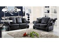 GOOD OFFER 3+2 sofa set leather
