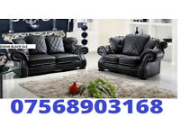 SOFA SPECIAL Diana new release 3+2 sofa set leather as in pic 5 sets only BRAND NEW 40