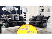 NEW AMAZING OFFER 3+2 sofa set leather