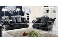 THIS WEEK SALE LEATHER DIANA 3+2 SOFA