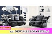 NEW HOT SALE OFFER 3+2 LEATHER SOFA SET