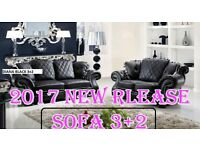 ''BANK HOLIDAY''' SALE new release''' 3+2 sofa set leather as in pic 5 sets only ''BRAND NEW