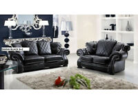 2017 new release 3+2 sofa set leather as in pic 5 sets only 55UDEC