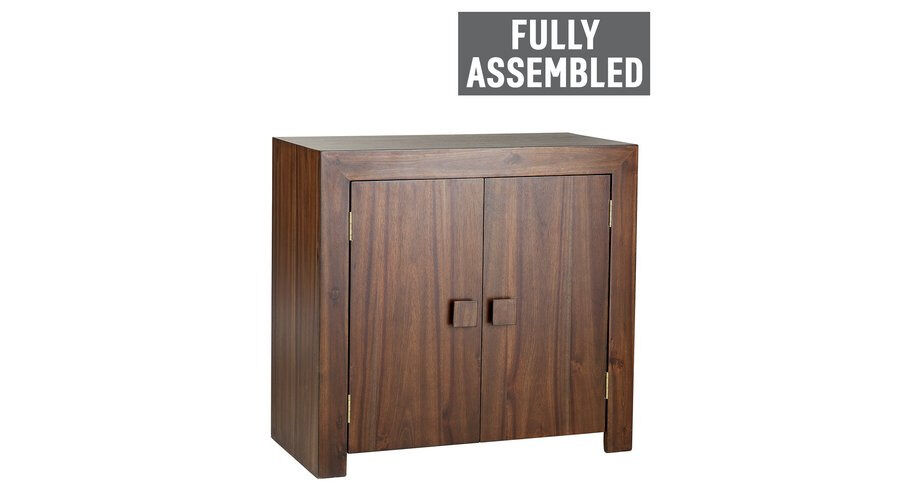"Jaipur Acacia 2 Door Sideboardin Derby, DerbyshireGumtree - ""Part of the Jaipur collection. Size H75, W80, D40cm. 2 doors. 1 fixed shelf. Weight 25kg. General information Fully assembled . Maximum load weight 50kg."" I can deliver. For more information please call or text me"