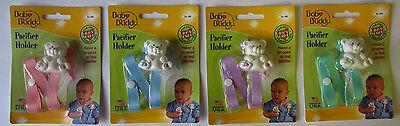 Baby Buddy Bear Pacifier Holder  - BPA Free New Free Shipping In The US Baby Buddy Pacifier Holder