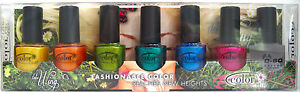 COLOR-CLUB-TAKE-WING-7-PIECE-NAIL-POLISH-SET-Daisy-Sparkle-Fly-Metamorphosis-NIB