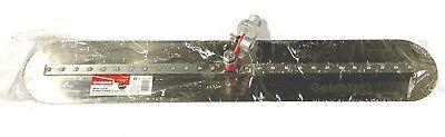 Goldblatt Fresno Trowel Round End 30 X 5 With Threaded Adaptor G16907