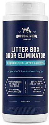Rocco  Roxie Litter Box Odor Eliminator – Best Natural Litter Deodorizer