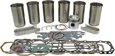 Engine Inframe Kit Gas For Oliver 1550 1555 Tractors