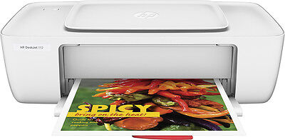 Hp   Deskjet 1112 Printer   White