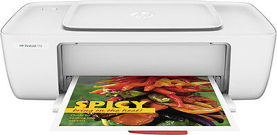 HP - DeskJet 1112 Printer - White