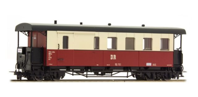 HS  Tillig 13962  Schmalspur Packwagen DR HOm