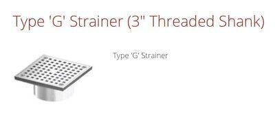 Wade G Type Floor Drain Strainer Part G6 Satin Finish Nickelbronzetop 353126