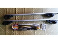 Pair of roof bars