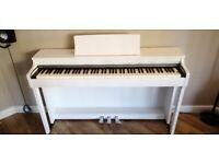 KAWAI CN27 DIGITAL PIANO. SATIN WHITE. BRAND NEW EX DEMO. 5 YEAR WARRANTY.