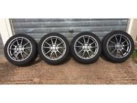 4x108 alloy wheels Autec wizard Peugeot Ford Citroen fitment