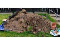 Free yard soil.