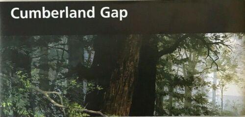 New 2017 CUMBERLAND GAP NHP  NATIONAL PARK SERVICE UNIGRID BROCHURE  Map