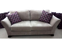 2 Annalise Sofas (Furniture Village) 3 seater & 4 seater. Buy as a pair or a single item